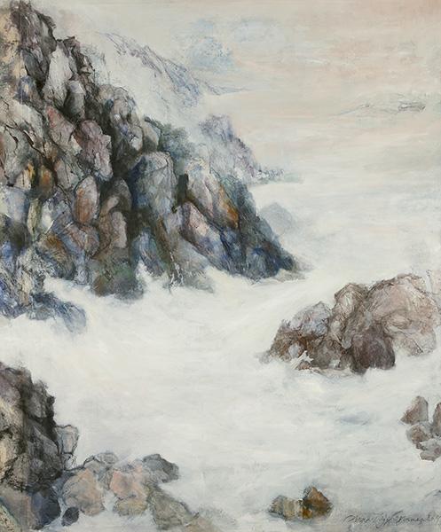 Mixed media on canvas, 99x85cm, 2014